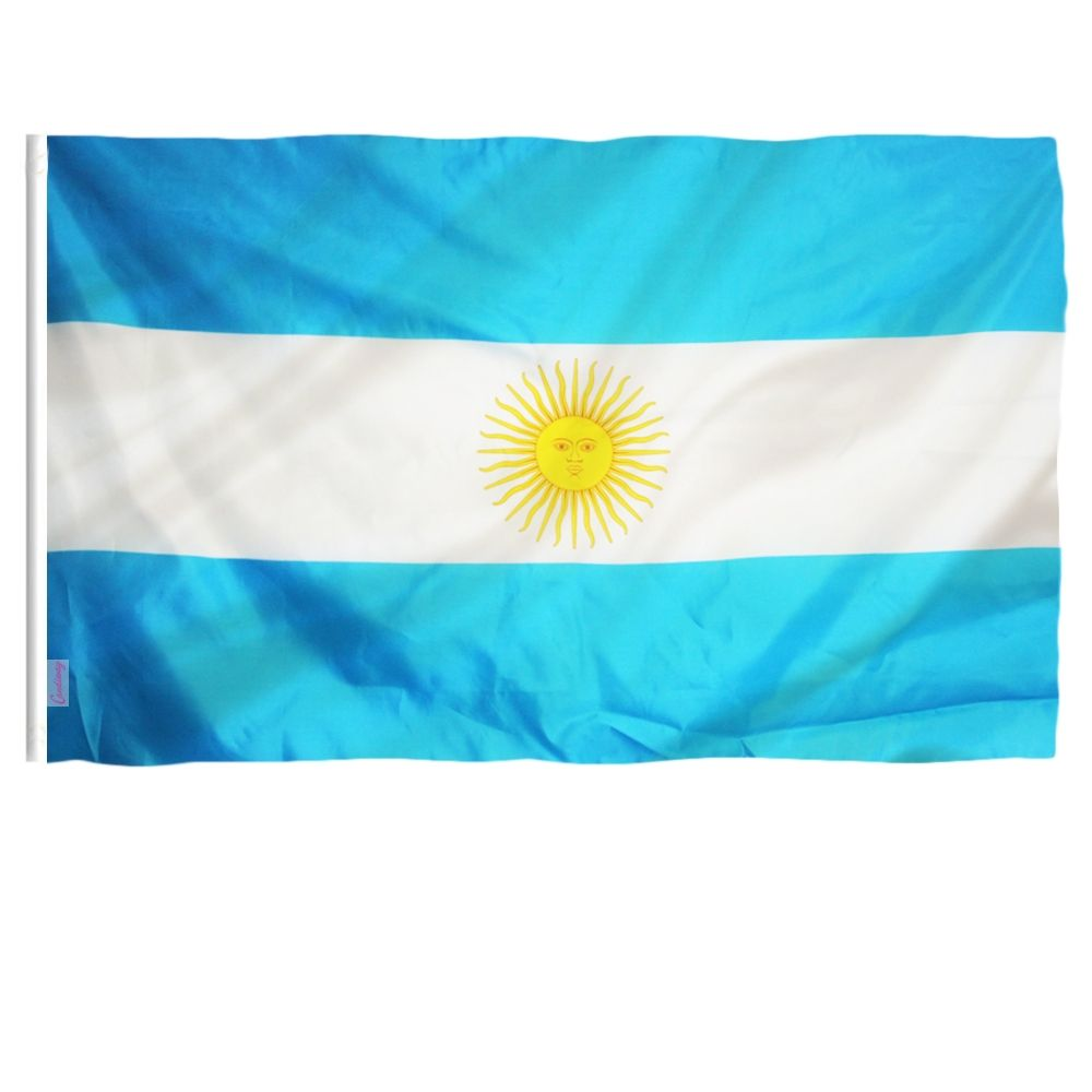 Double Sided Argentina National Flag Football Bomb In 2020 National Flag National Flag Football Flag