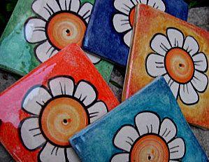 Azulejos pintados a mano deseos para nuestra casa Pintar azulejos a mano