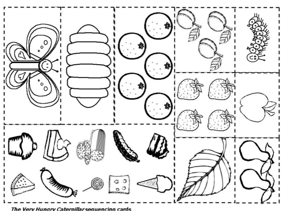 The Very Hungry Caterpillar Food Coloring Pages Hungry Caterpillar Activities The Very Hungry Caterpillar Activities Very Hungry Caterpillar Printables