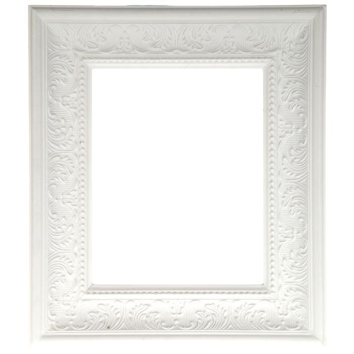 8 X 10 Cream White Open Scatter Embossed Frame Beauty Room Decor Living Room Redesign Frame