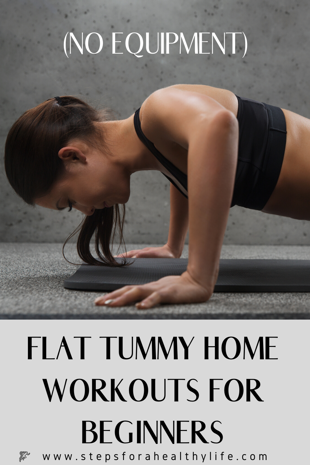 3 FLAT BELLY HOME WORKOUTS FOR BEGINNERS �‍️�‍️