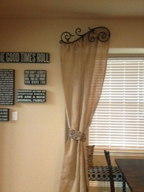 Made to Order Burlap Curtains 84 90 L by ATouchOfColorDesigns ...