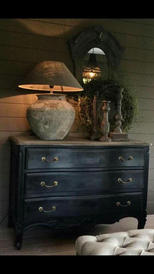 Pin van roel hendriks op wonen pinterest decoratie for Decoratie op dressoir