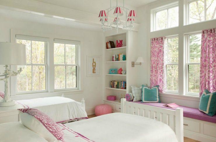 Girls Bedroom Window Seat- universalcouncil.info