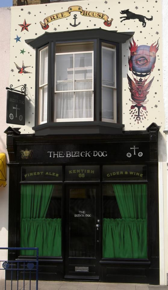 Coming soon! The Black Dog Micropub in Whitstable. Will have to try this one out when it opens!