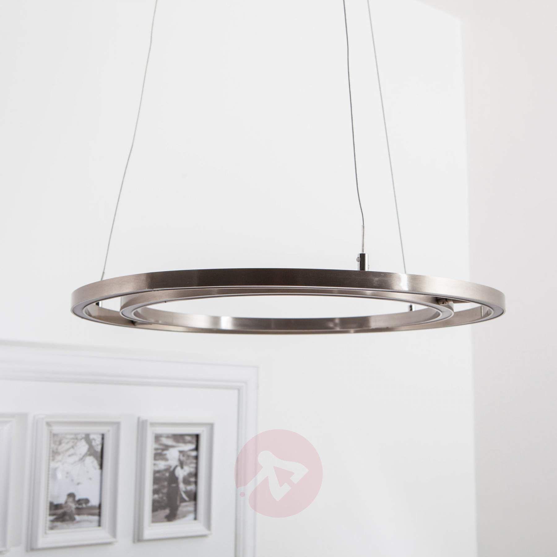 Led Hanglamp Lovisa Met Twee Led Ringen Led Hangeleuchte Hangeleuchte Led