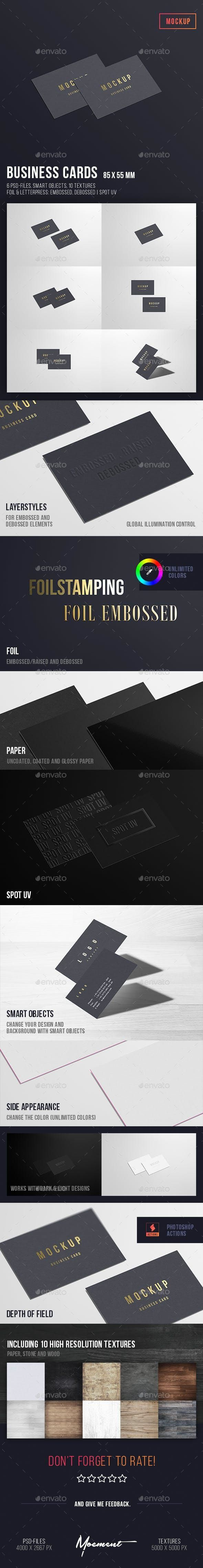 Business Cards Mockup 85x55 Business Card Mock Up Business Cards Mockup Psd Printing Business Cards
