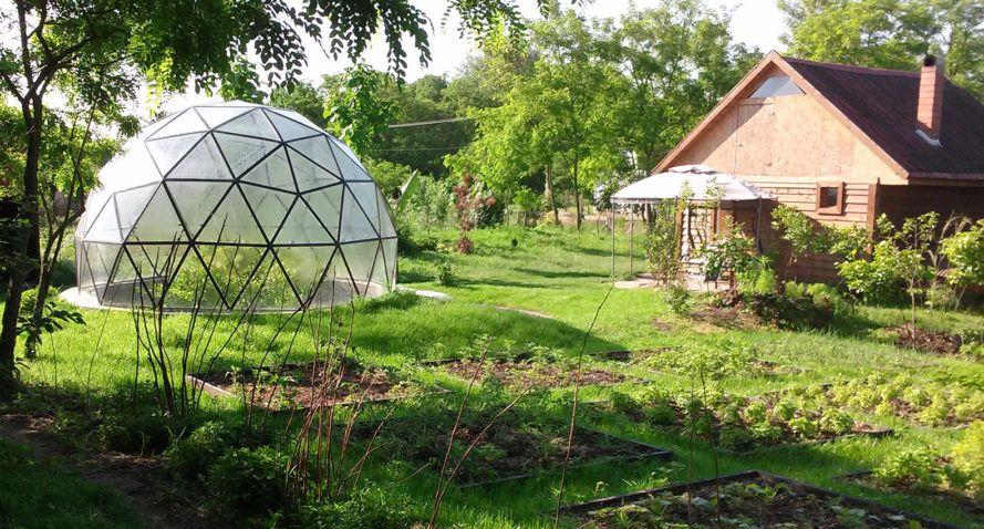 Biodome Systems Romania Garten Zuhause
