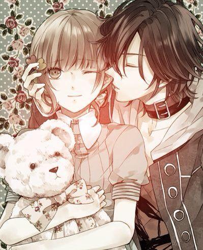 Shin Anime Kawaii Cute Girl Boy Anime Kiss Love Amnesia Amnesia Anime Anime Amnesia Memories