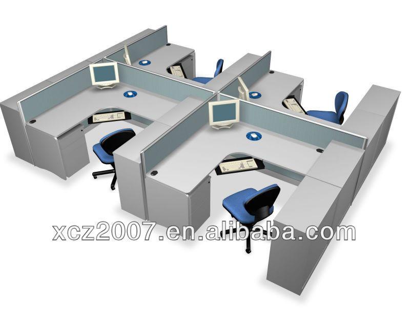 Mobiliario de oficina mesa moderno escritorio de oficina for Mobiliario oficina moderno