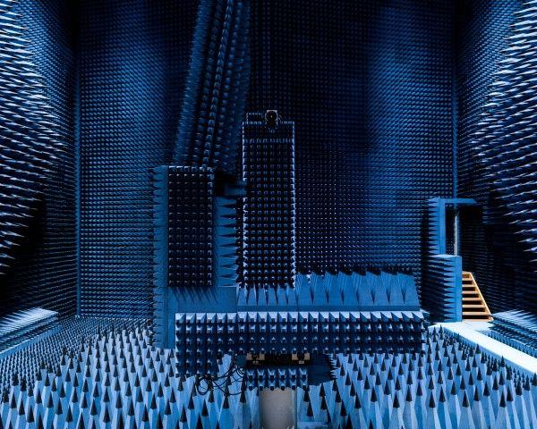 Radio Anechoic Chamber, Denmark | Anechoic chamber and Copenhagen ...