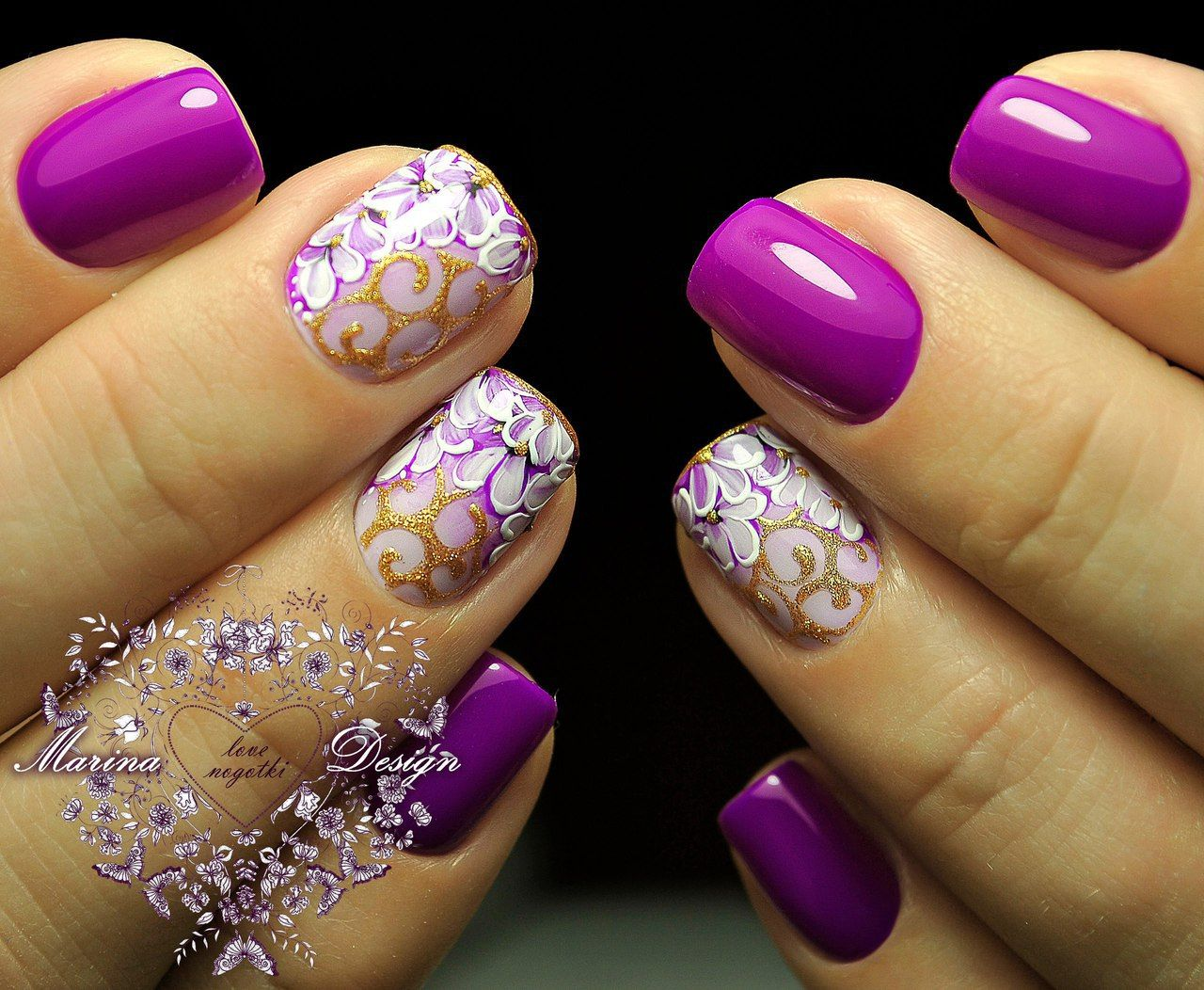 Nail Art 3308 Best Nail Art Designs Gallery Pinterest Lilac