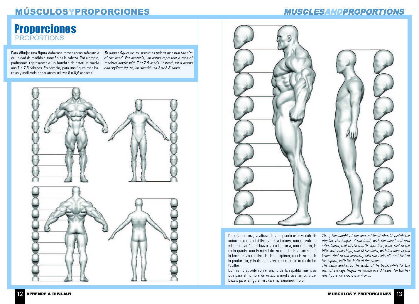 Aprende a dibujar cómic: Anatomía de superhéroes « Dolmen Editorial ...