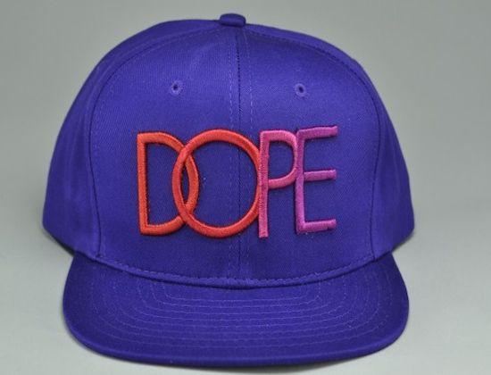 """DOPE COUTURE """"Basic Logo"""" Snapback Cap"""