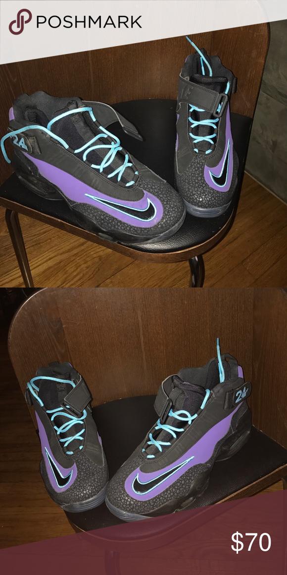 Air 1 Size Purple 13 Black And Griffey Nike Venomblack Max 9W2DEHI