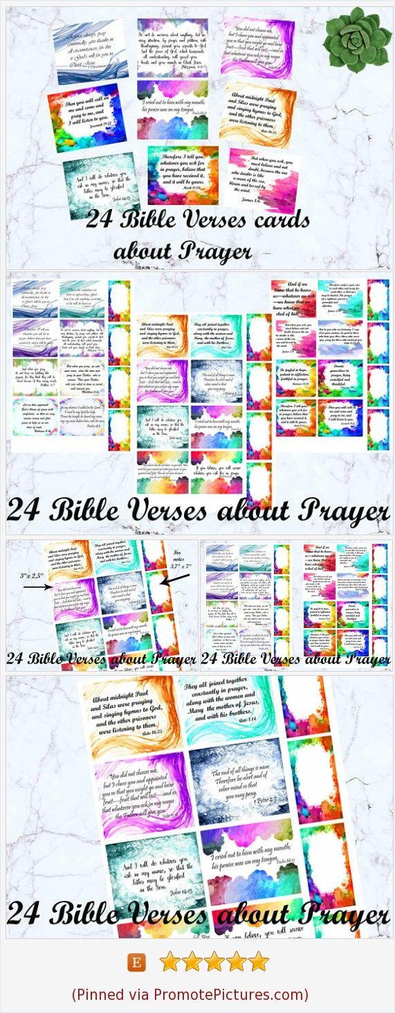 Bible journaling printables prayer cards bible study cards