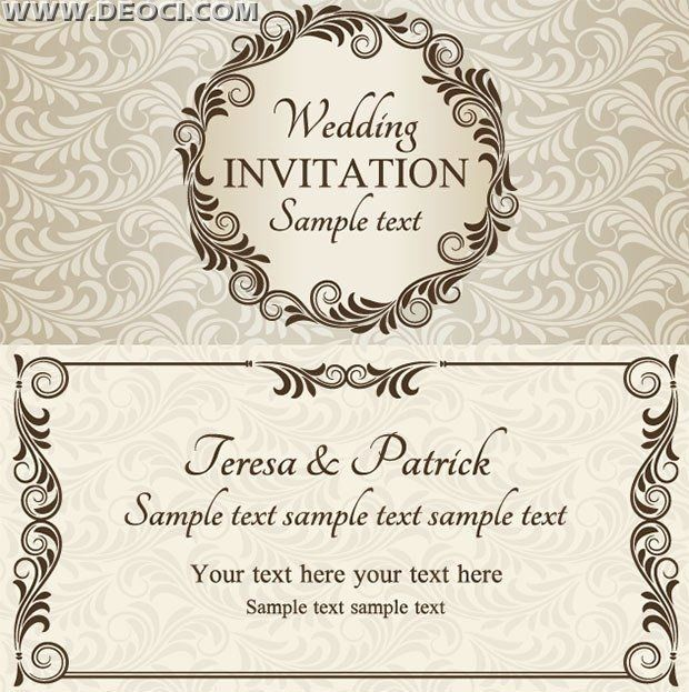 Invitation Cards Template Free Download Best Of Inspiring Wedding I Free Wedding Invitations Wedding Invitation Card Template Free Wedding Invitation Templates