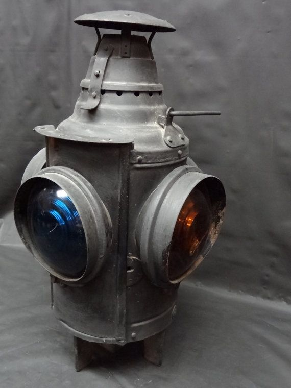 Railroad Switch Lantern By Blackcatantiquescoll 250 00 Old Lanterns Railroad Lamp Railroad Lanterns