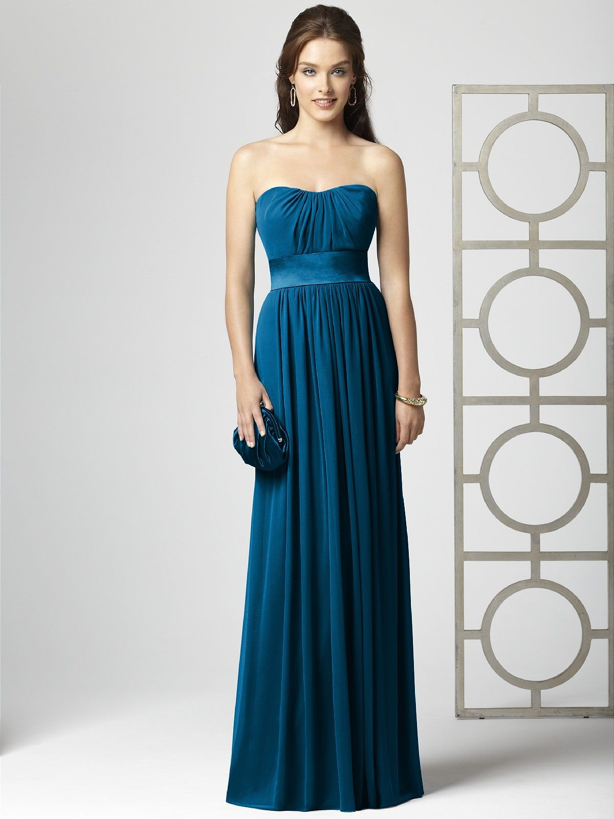 Ocean blue bridesmaid thereus gonna be a wedding pinterest