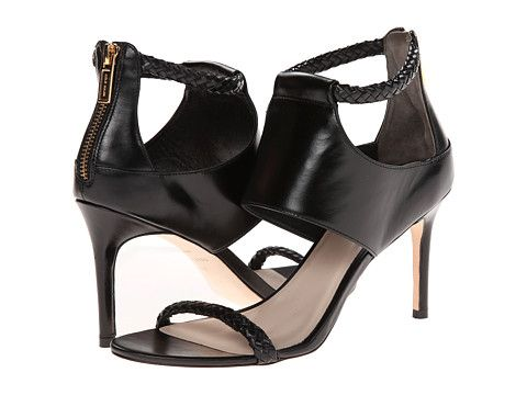 Simple, modern, and sleek black heel option for TT Dress - Cole Haan Lise.  Ankle Strap SandalsHigh ...