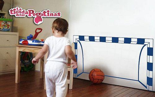 Vinilos decorativos de pared infantiles futbol in 0156 for Pegatinas habitacion infantil