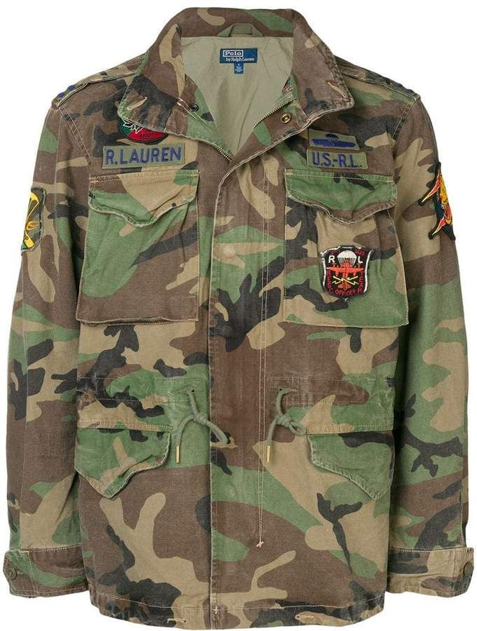 große Auswahl noch nicht vulgär klar in Sicht Polo Ralph Lauren military army jacket | Products in 2019 ...
