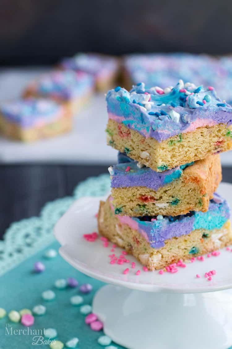 Astounding Mermaid Birthday Sugar Cookie Bars Recipe Sugar Cookie Bars Funny Birthday Cards Online Drosicarndamsfinfo