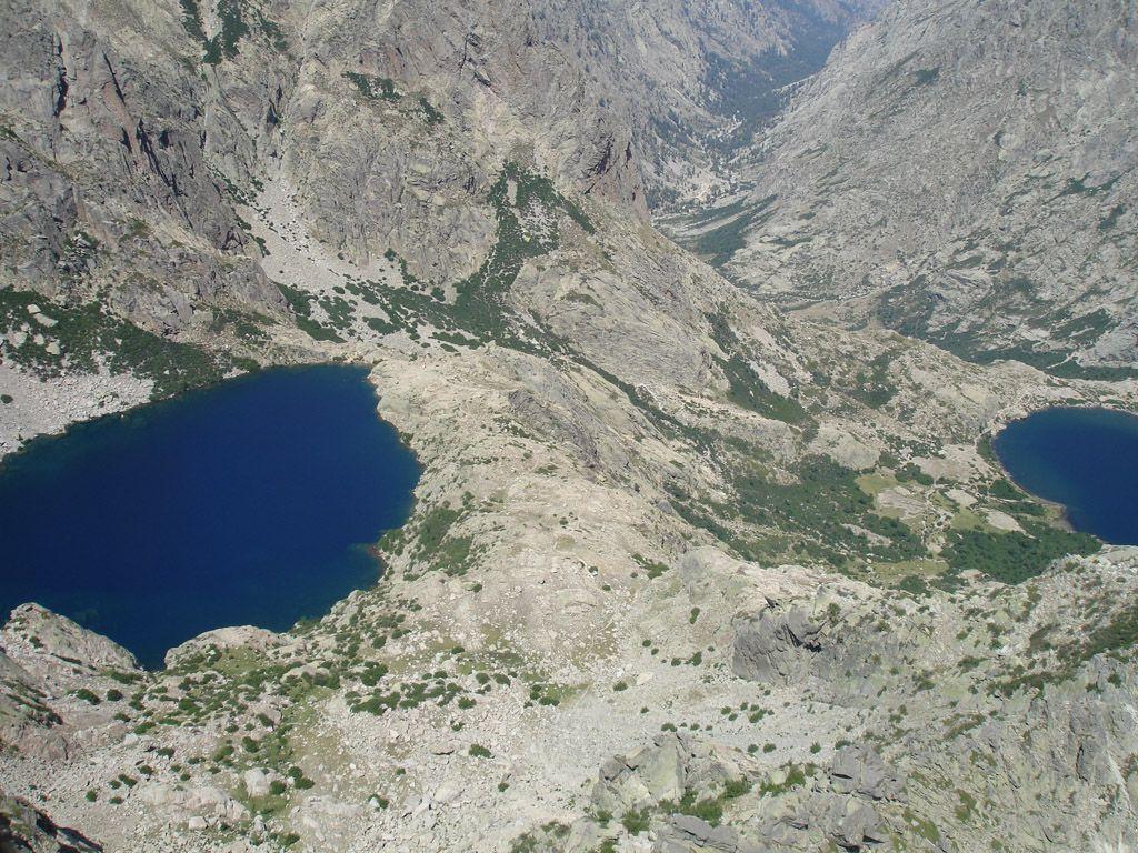 Photo aérienne de Lacs Capitello et Melo - Haute-Corse (2B)