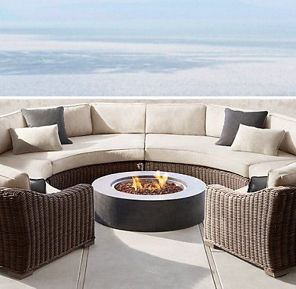 Provence Collection Quality Outdoor Furniture Outdoor Furniture Sets Fire Pit Seating