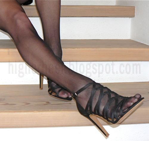 stockings, legs, toes and high heels   Stockings and ...