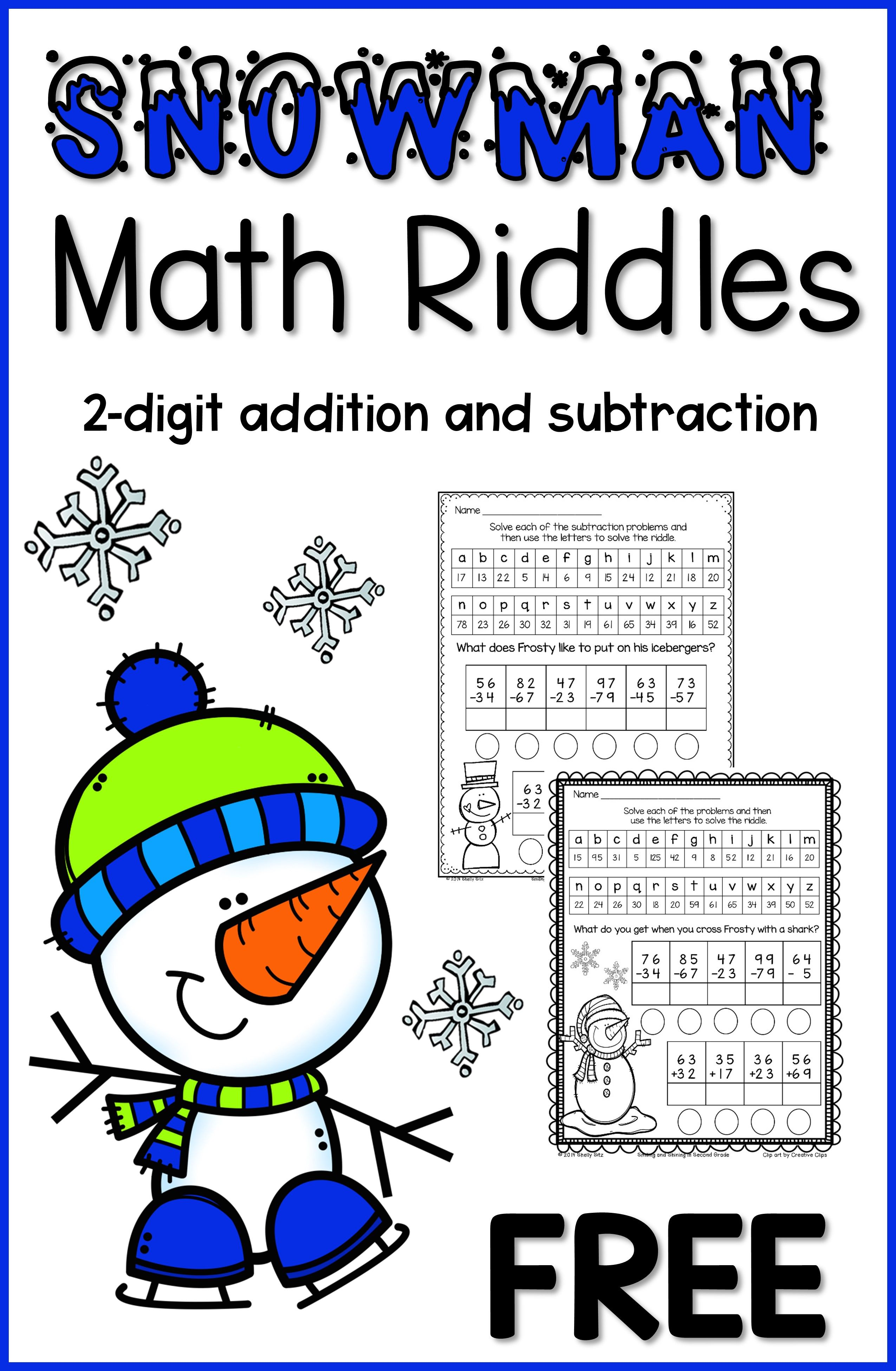 Winter Ideas Activities And Freebies For The Classroom