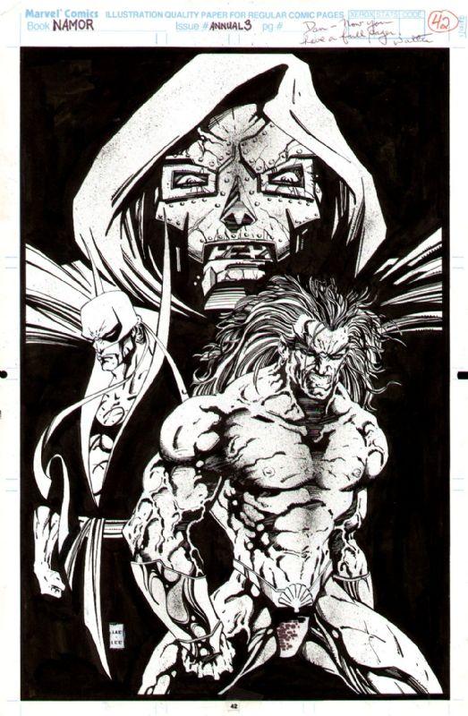Namor Annual #3 | Jae Lee