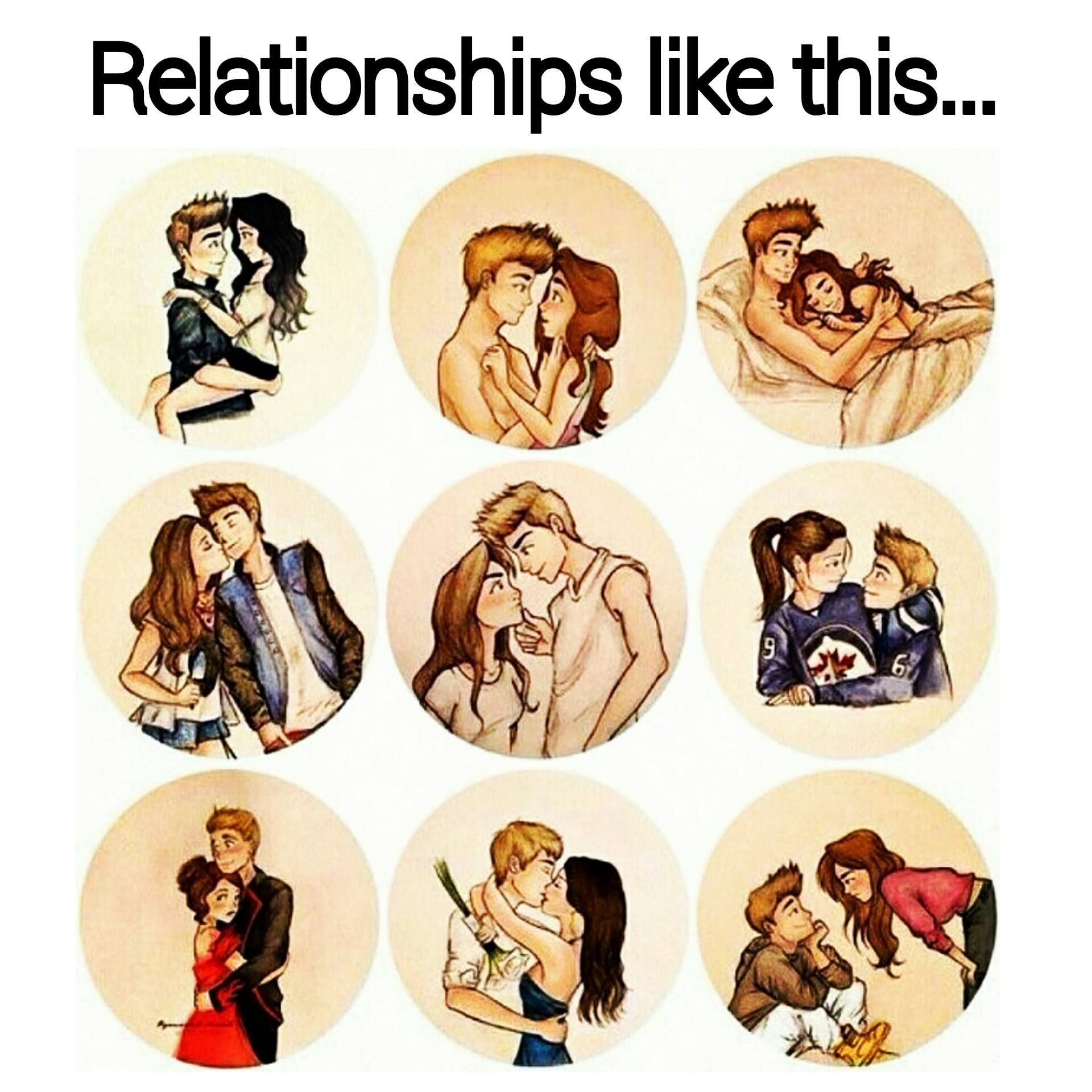 Relationships In An Icon