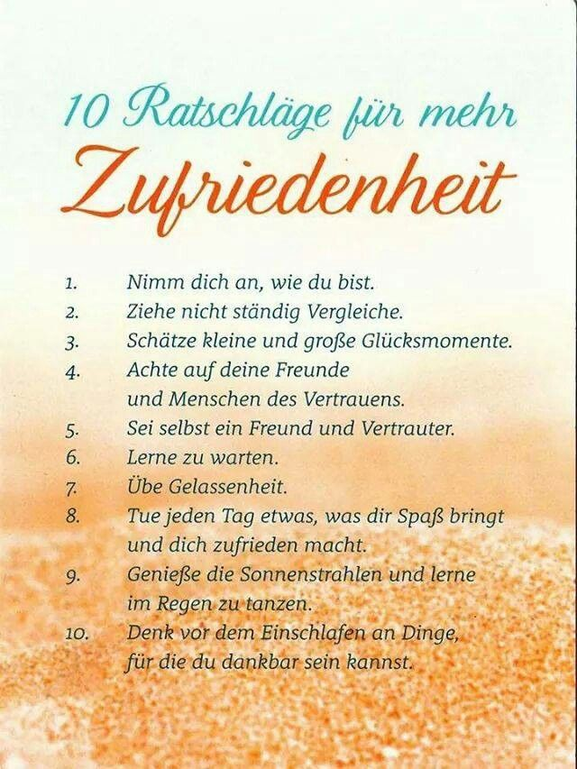 sprüche zufriedenheit gelassenheit Zufriedenheit | Němčina | Motivation, Life motivation a Quotes sprüche zufriedenheit gelassenheit
