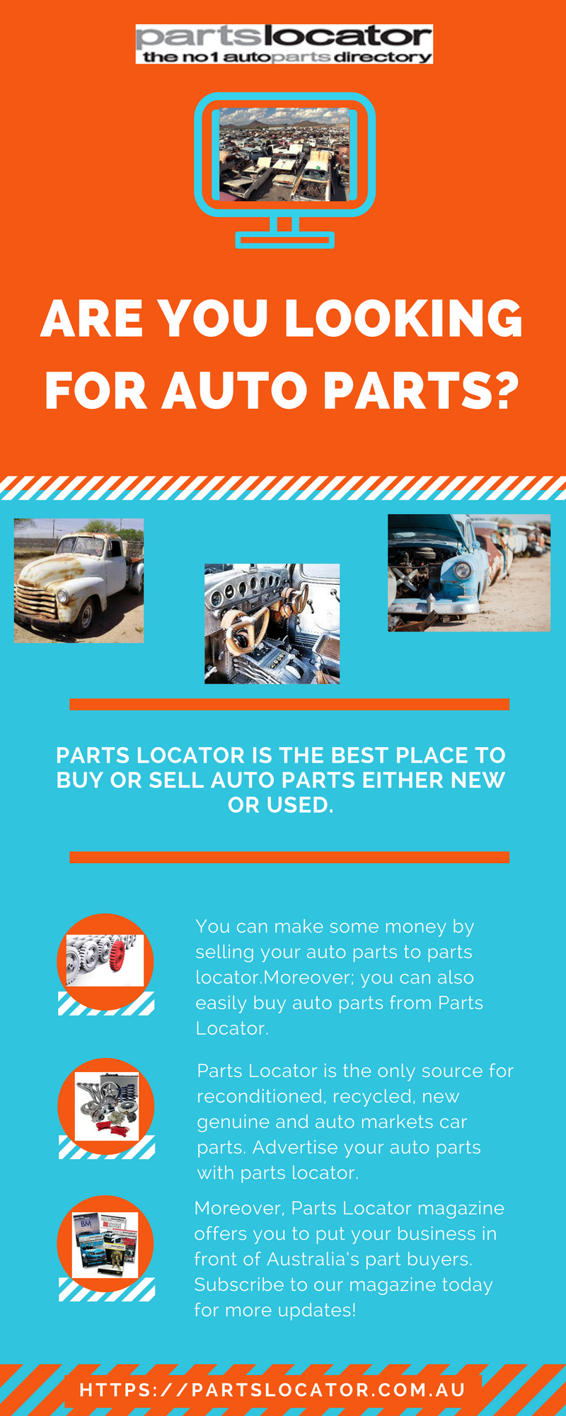 Parts locator is the best place to buy or sell used and new auto ...