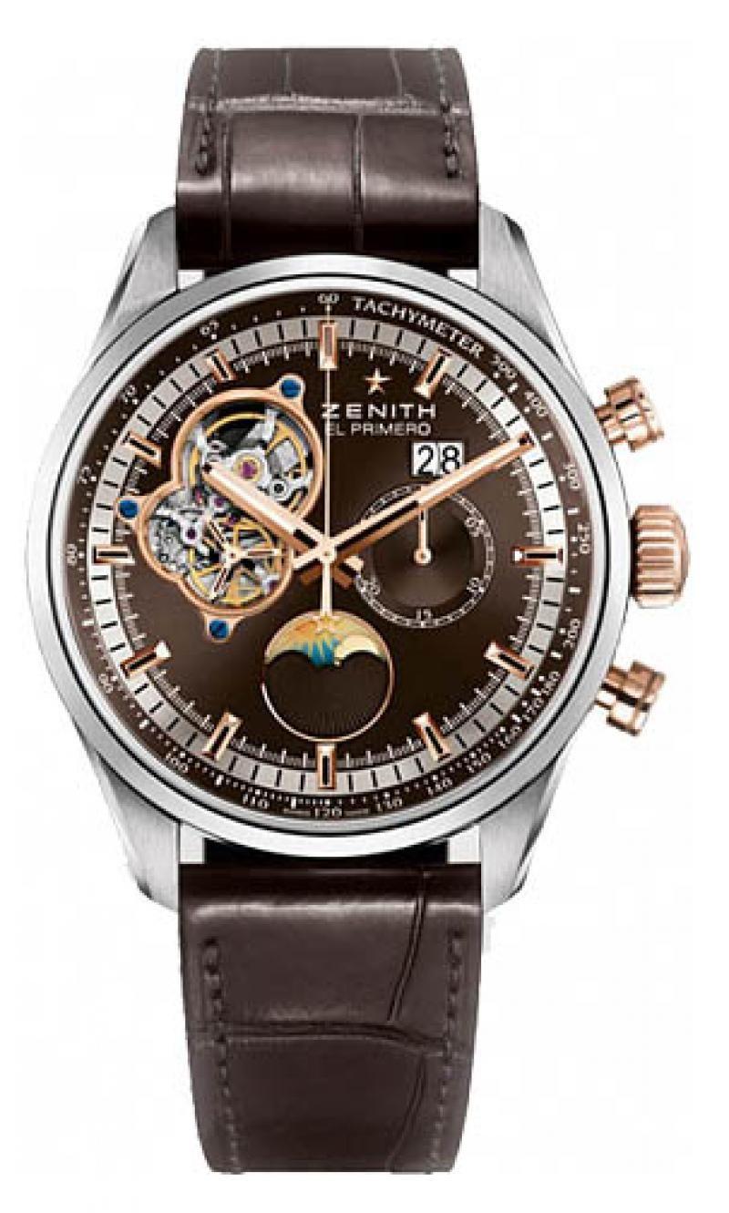 Золотые наручные часы мужские zenith