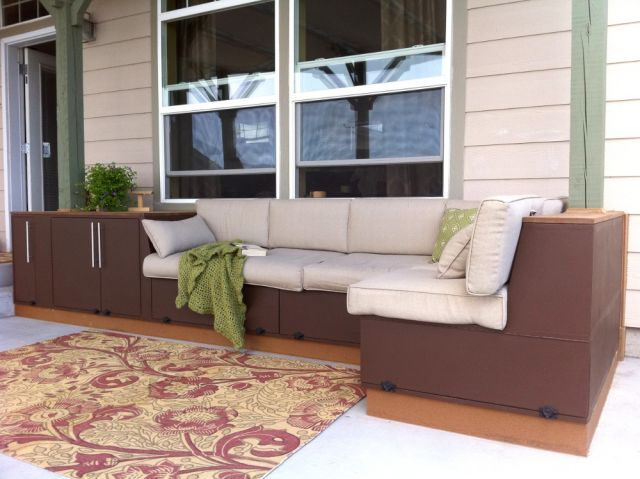 Outdoor Couch With Storage