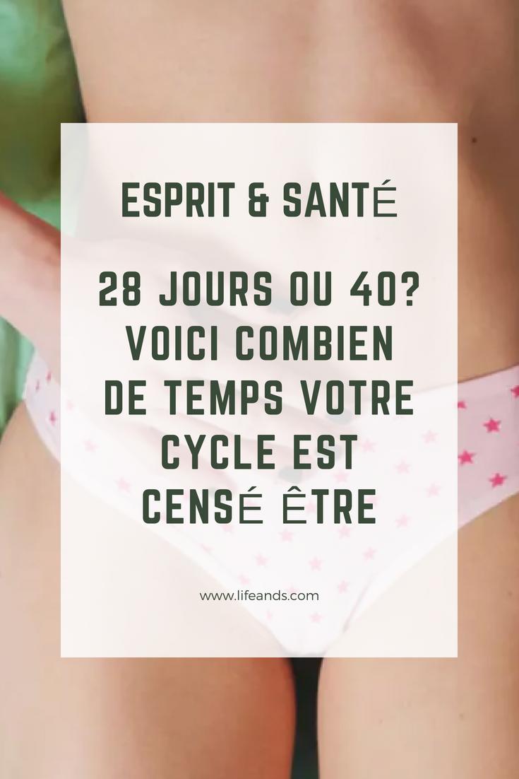 cycle de 40 jours