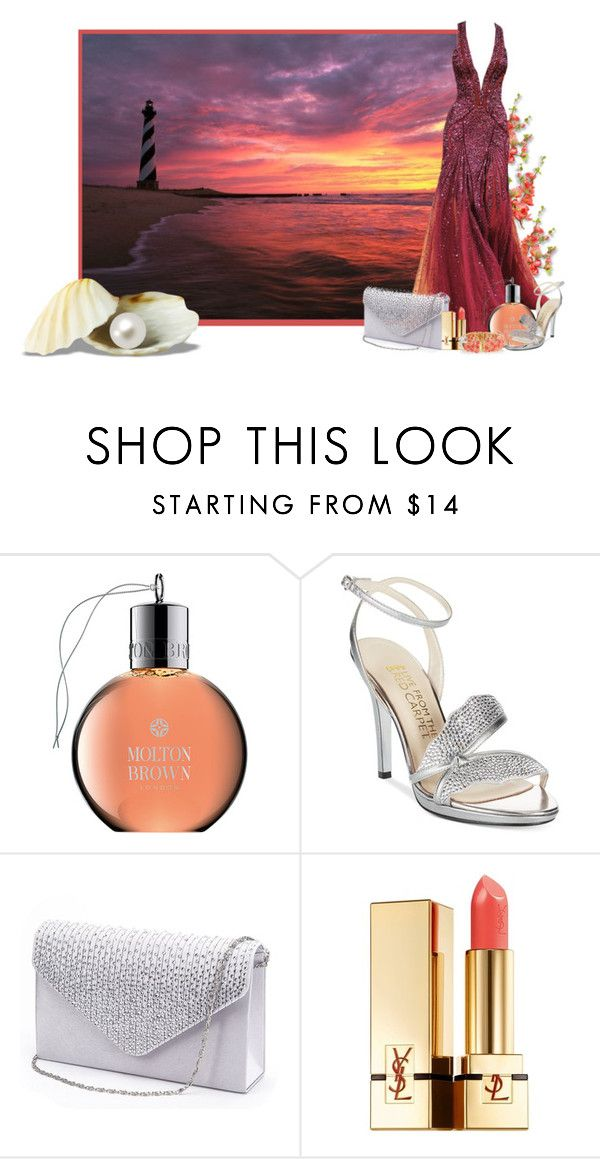 """By the Sea #3"" by uranya78 ❤ liked on Polyvore featuring Zuhair Murad, Molton Brown, Yves Saint Laurent and Kenneth Jay Lane"
