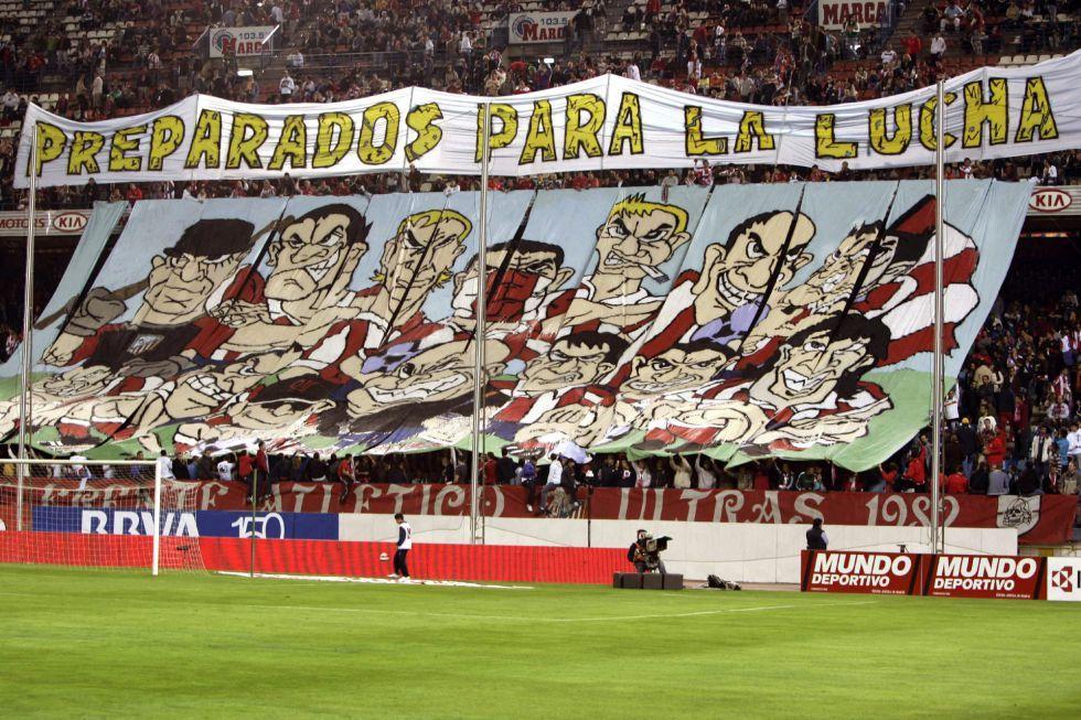"""Liga, l'Atletico Madrid espelle il 'Frente Atletico"""" come"""