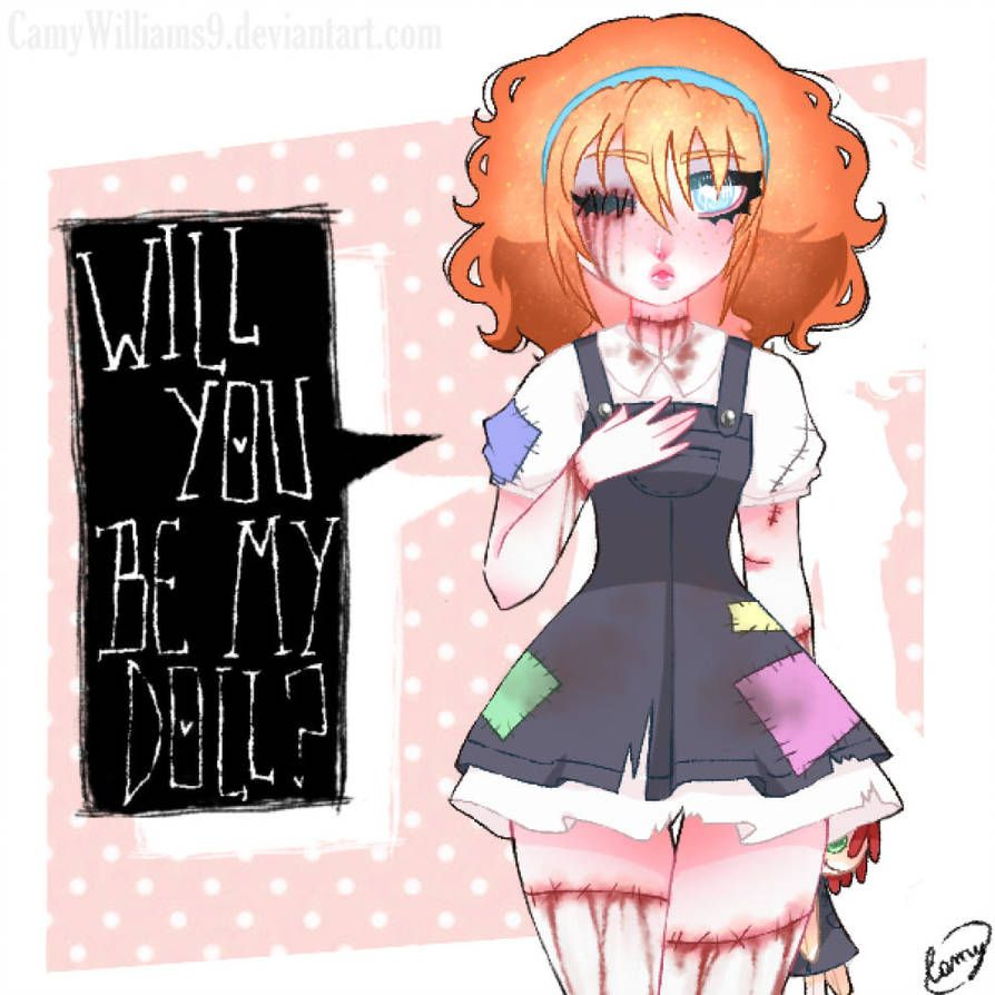 Lily The Dolly By Camywilliams9 Creepypasta Cute Creepypasta
