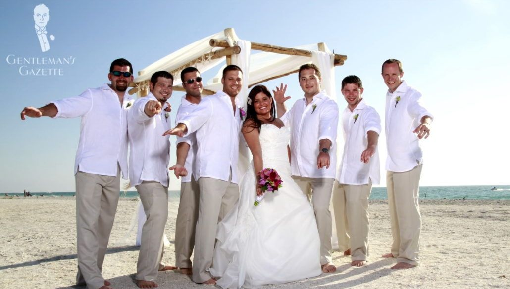 Beach Formal And Beach Wedding Dress Code