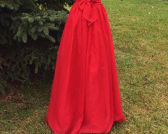 Chiffon skirt any length and color Bridesmaid skirt by shopVmarie