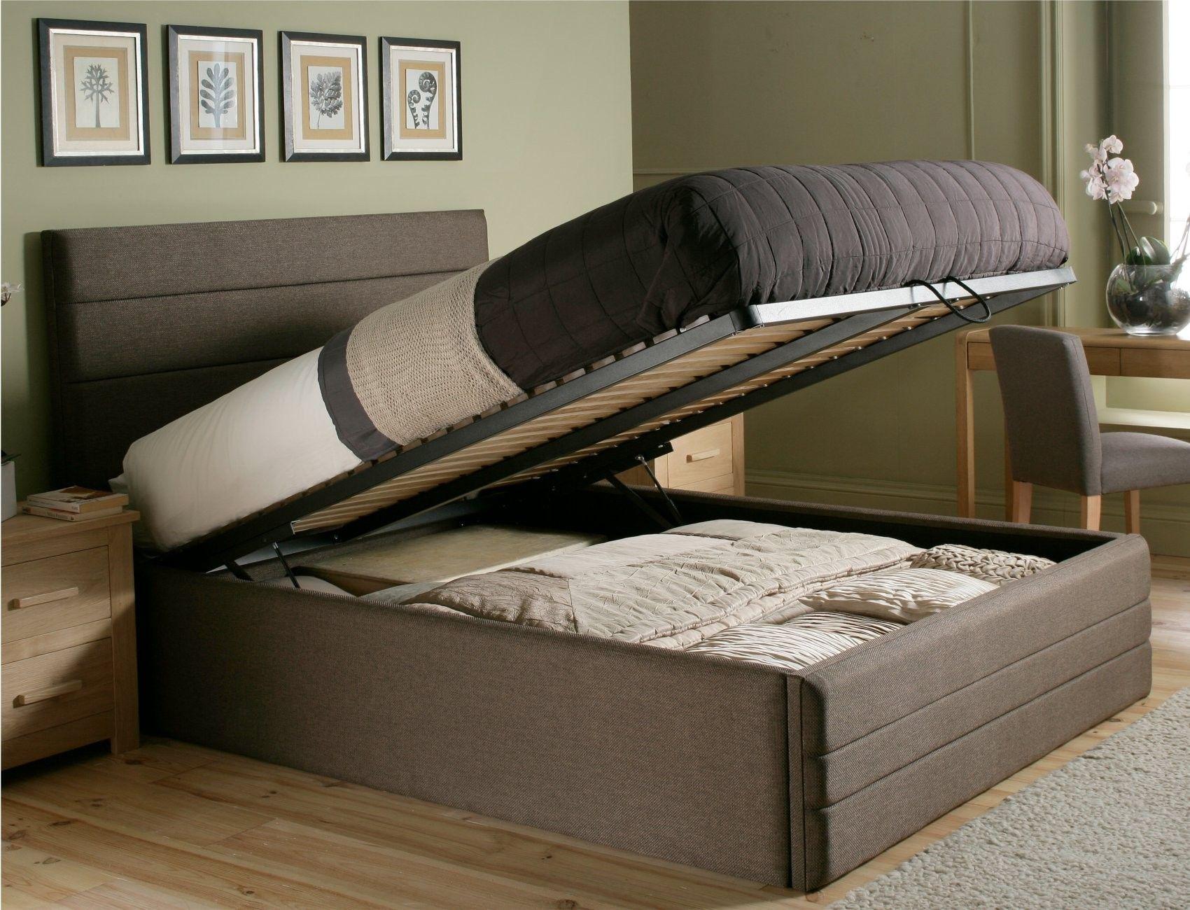 Claridge Upholstered Ottoman Storage Bed £499.00 Ottoman