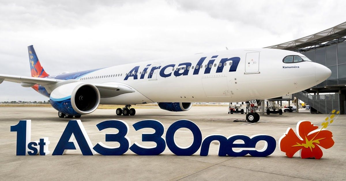 Aircalin takes delivery of its first of two A330neo