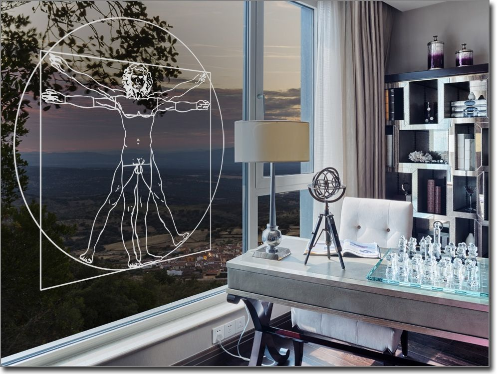 Mensch Dekorfolie Praxis Fensterfolie für Gewerbe Pinterest