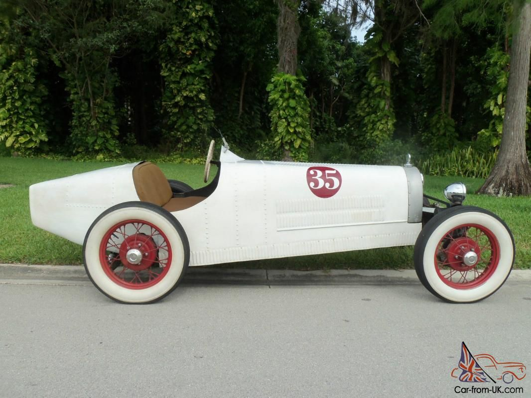 1929 Bugatti T 35 Racer Kit Car Replica On 1968 Vw Chassis