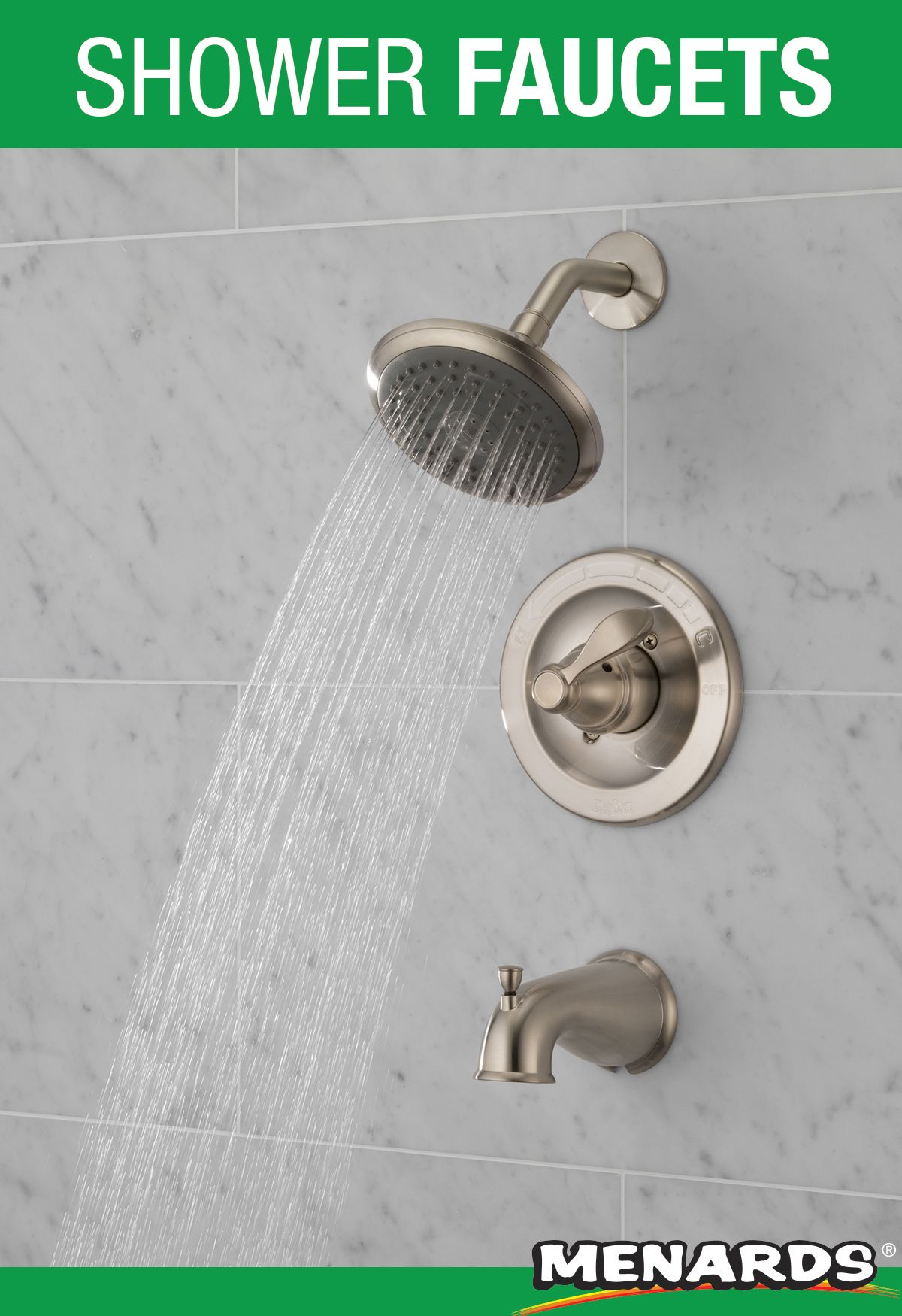 Refresh Your Bathroom And Enjoy A Relaxing Shower With This Delta