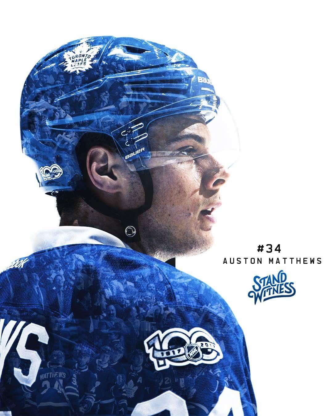 Auston Matthews Toronto Maple Leafs Hockey
