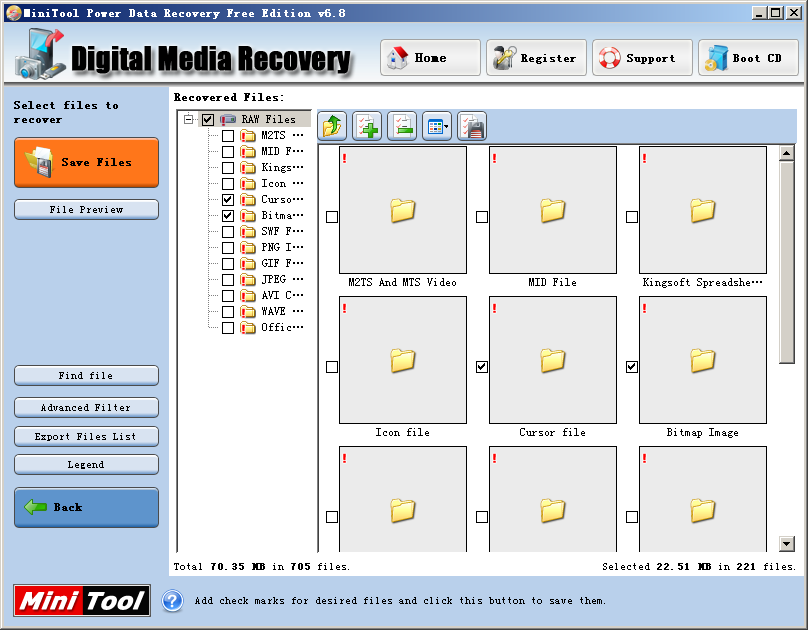 The Most Awesome Tool To Recover VCF Files Is Provided For